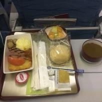 Mmmm, airline food