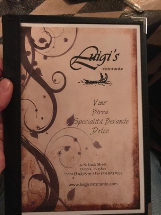 Luigi's was a great Italian Ristorante